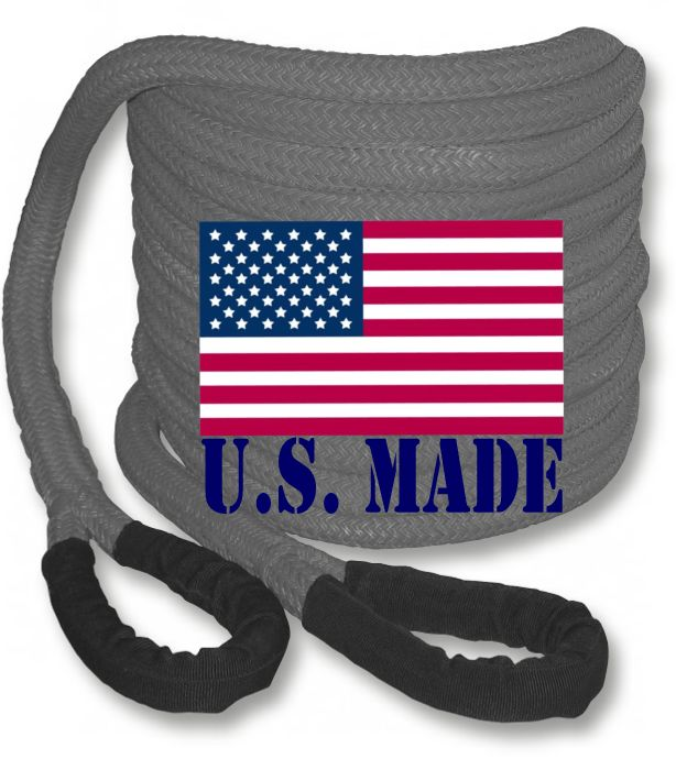 PolyGuard Kinetic Recovery Rope - GRAY
