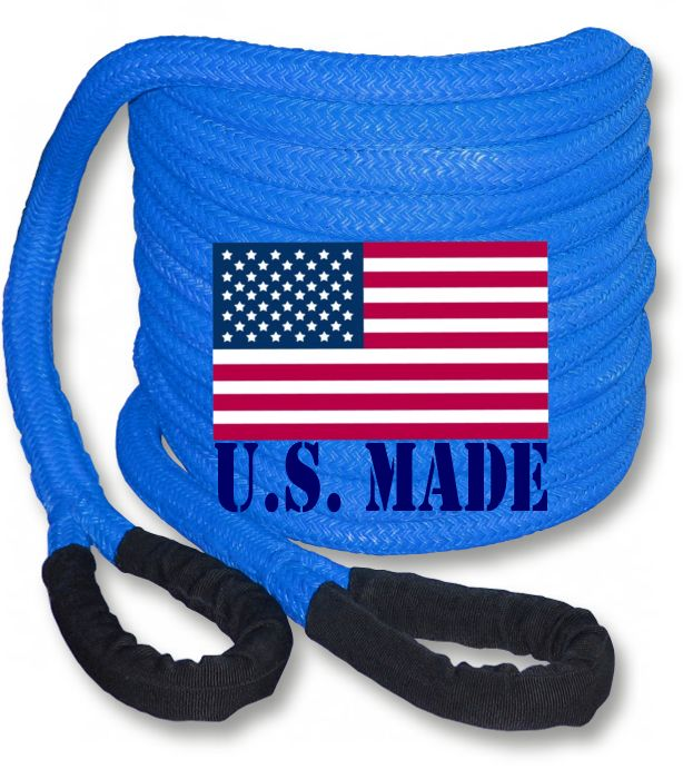 PolyGuard Kinetic Recovery Rope - BLUE
