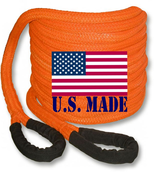 PolyGuard Kinetic Recovery Rope - ORANGE