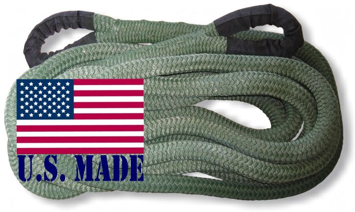 PolyGuard Kinetic Recovery Rope - OD GREEN