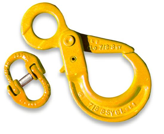 Self-Locking Winch Hook - YELLOW