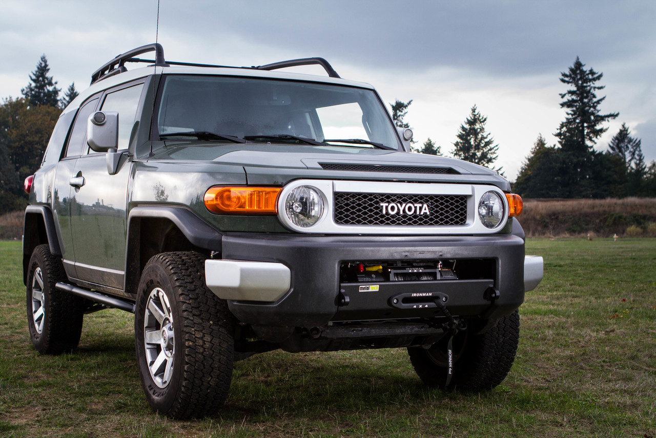 Metal Tech FJ Stronghold Winch Bumper