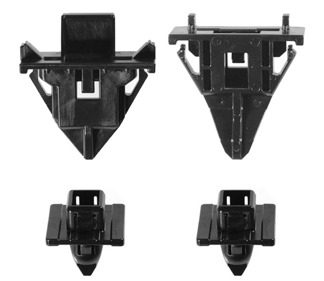 Au-ve-co FJ Cruiser Cowl Clip Set