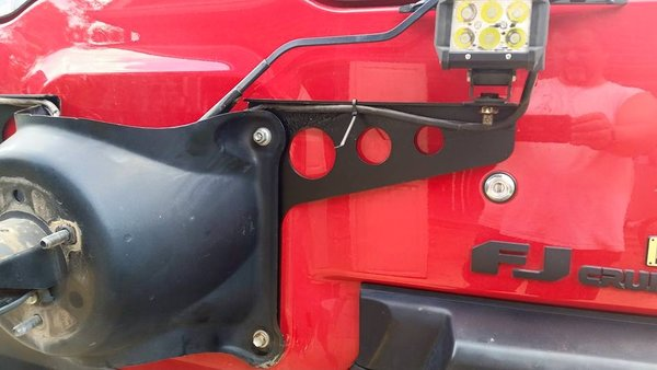 DB Customz FJ Cruiser Rear Aux Light Mount - PAIR
