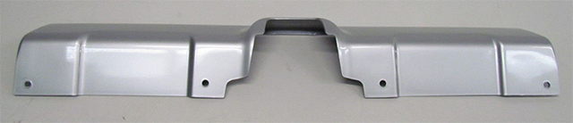 Silver FJ Cruiser Rear Valance/Cover With Notch