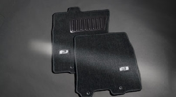 FJ Cruiser Carpet Floor Mats Charcoal 12-14