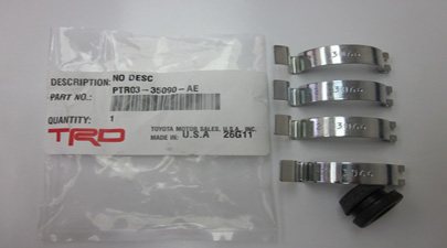 TRD Replacement clips for CAI Lid