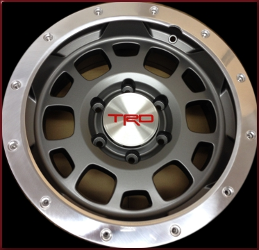 Toyota TRD Grey Off-Road Wheel 16""