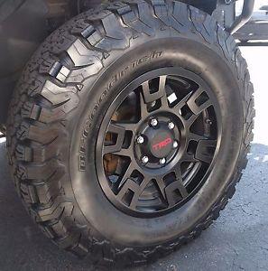 TRD Pro style Black 17 x 7 Wheel [PTR20-35110-BK] - $186 ...