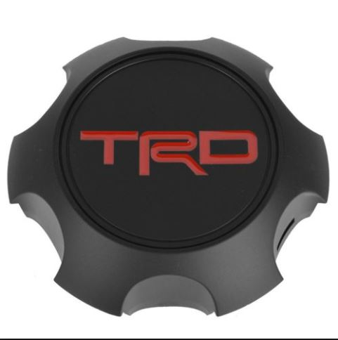 TRD 17 inch Black TRD Pro Center Cap