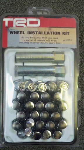 Wheel Installation Kit 12mm Conical Narrow Groove