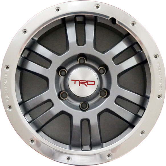 "TRD 17"" Forged Aluminum Alloy Single Wheel (6 lug)"