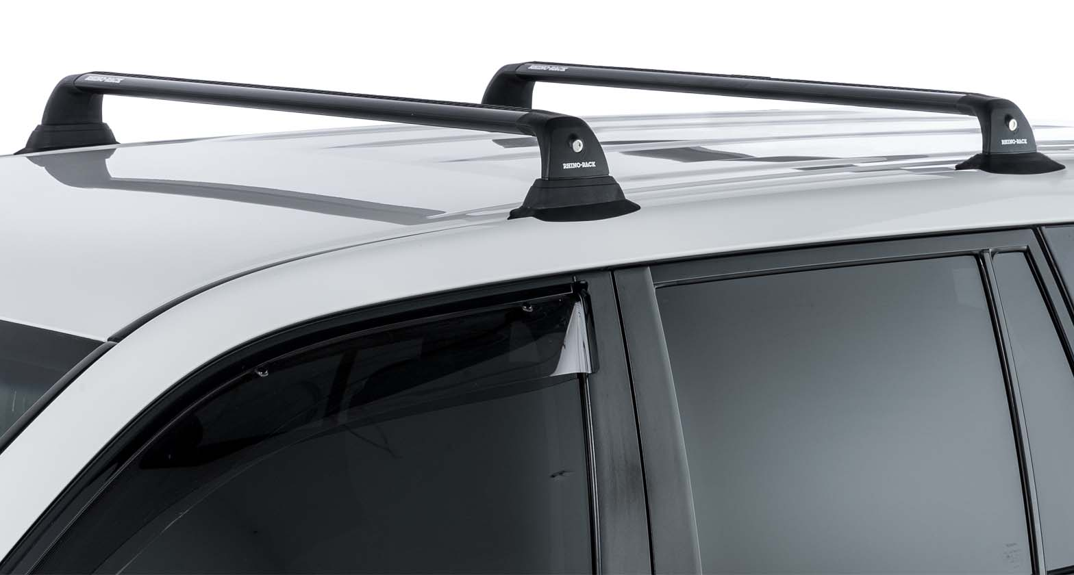 Rhino-Rack Vortex RVP Black 2 Bar Roof Rack