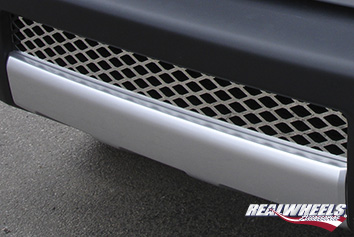 Real Wheels Stainless Steel Lower Bumper Grille