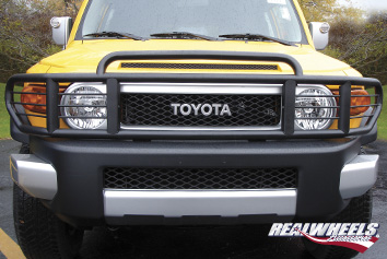 Real Wheels Double Tier Wrap Around Brush Guard with Inserts