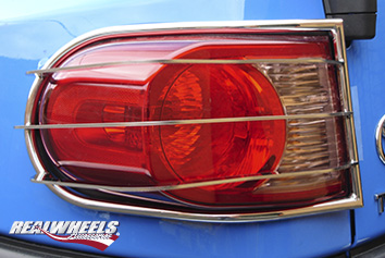 Real Wheels Tail Light Guards Stainless Steel