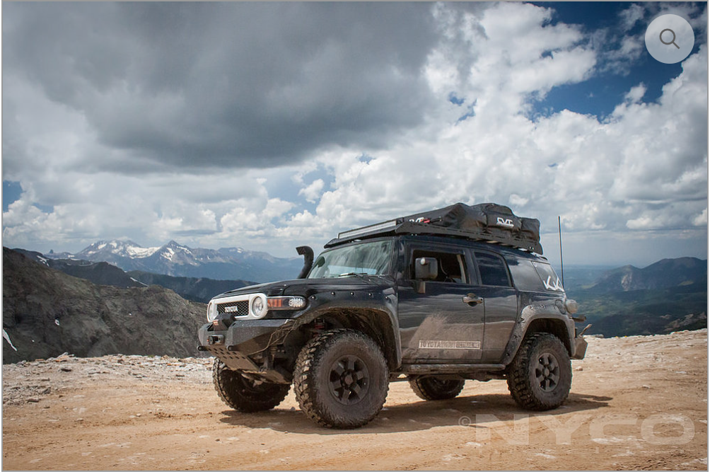 PrInSu Designs FJ CRUISER ROOFRAC