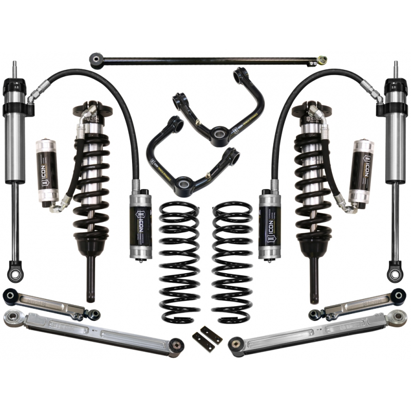 2007 - 2009 FJ Cruiser Suspension System - Stage 7 w/Tubular UCA