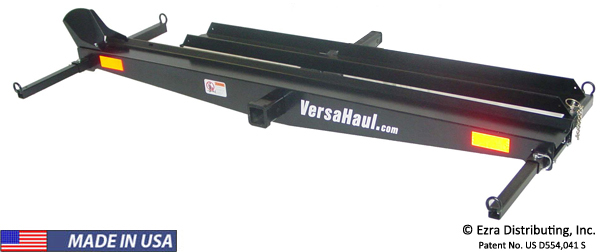 Versahaul Single Motorcycle Carrier with Ramp Option VH-55 RO