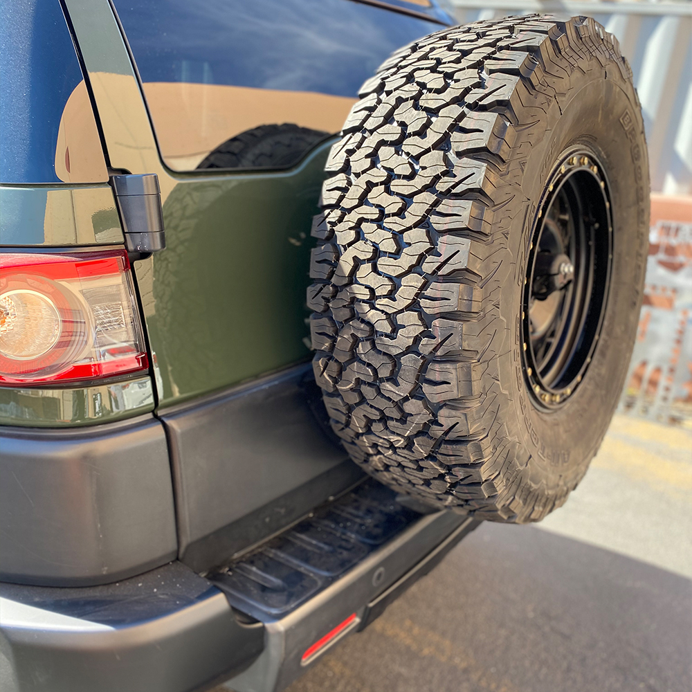 Westcott Designs Spare Tire Relocation Mount Kit 2007-2014 FJ Cruiser