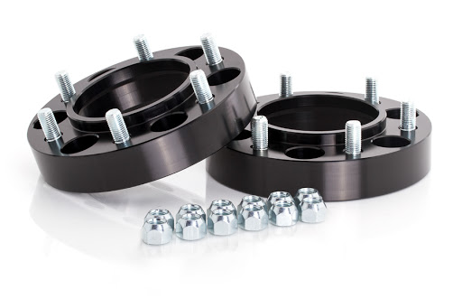 "SpiderTrax 1.25"" Thick Wheel Spacers - BLACK"