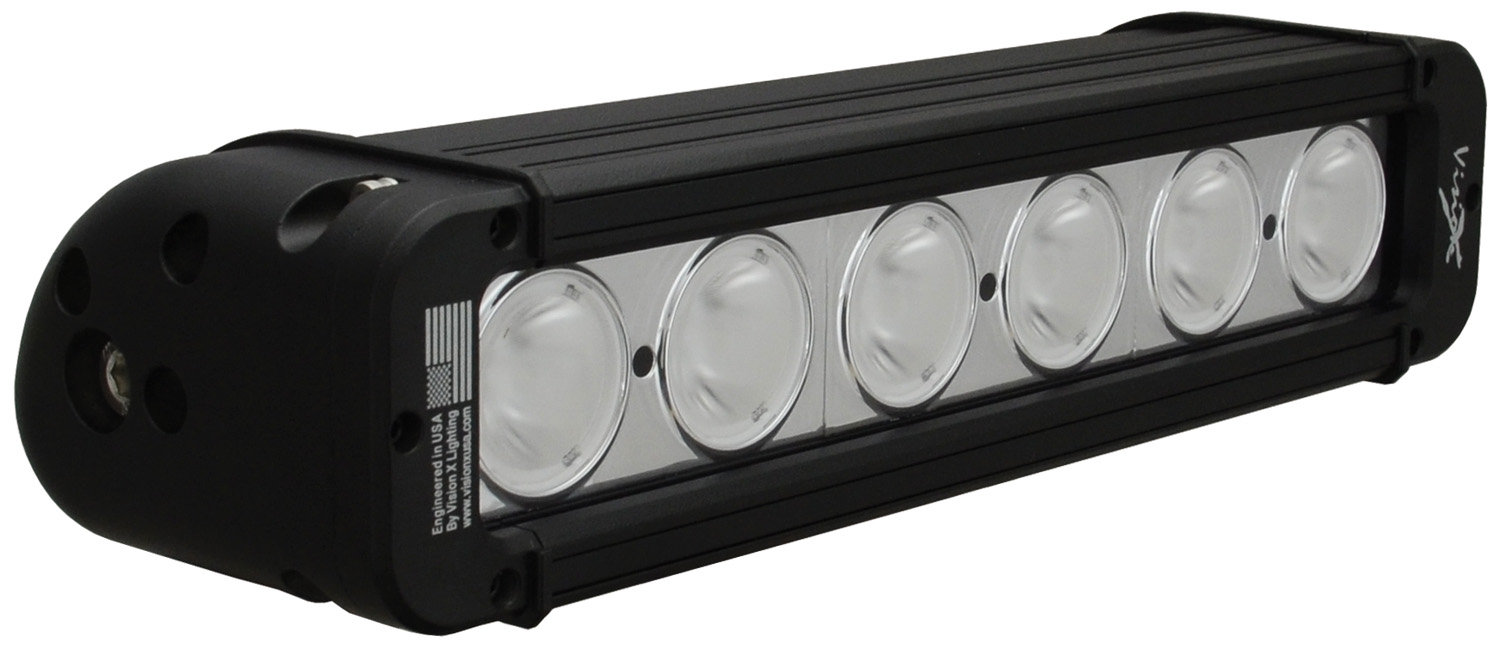 "11"" EVO PRIME LED BAR BLACK 6 10W LED'S NARROW"