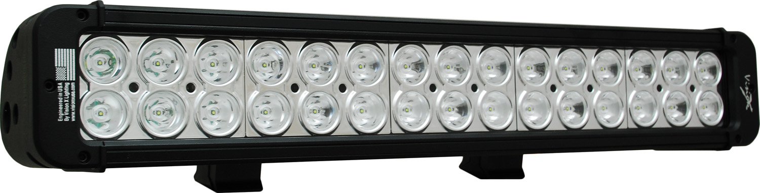 "18"" XMITTER PRIME LED BAR BLACK THIRTY 3-WATT LED'S 10 DEGREE NARROW BEAM"