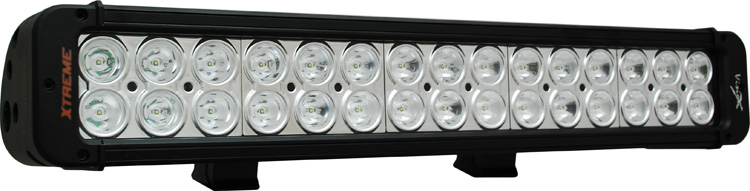 "18"" Xmitter Prime Xtreme LED Bar Black Thirty 5-Watt LED's 10 Degree Narrow Beam"