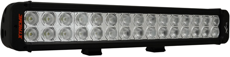 "18"" Xmitter Prime Xtreme LED Bar Black Thirty 5-Watt LED's 40 Degree Wide Beam"