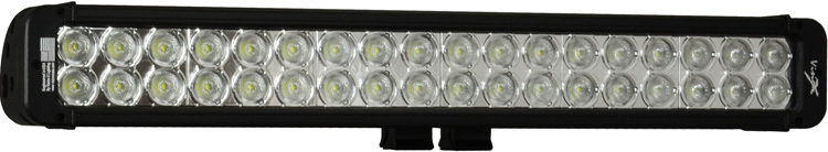 "21"" Xmitter Prime Xtreme LED Bar Black Thirty Six 5-Watt LED's 10 Degree Narrow Beam"