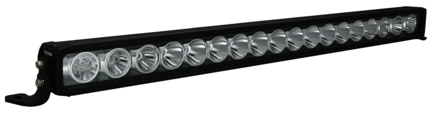 "35"" XMITTER PRIME IRIS LIGHT BAR 18 LED WITH TILTED OUTER OPTICS FOR MIXED BEAM"