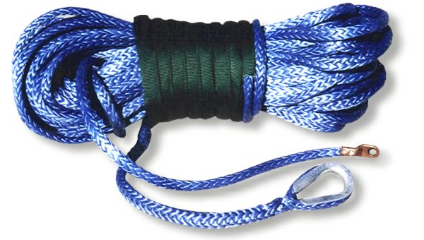 "Amsteel Blue Winch Rope 3/8"" X 100'"