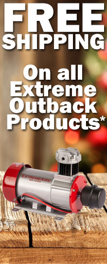 Free Shipping on all Extreme Outback!