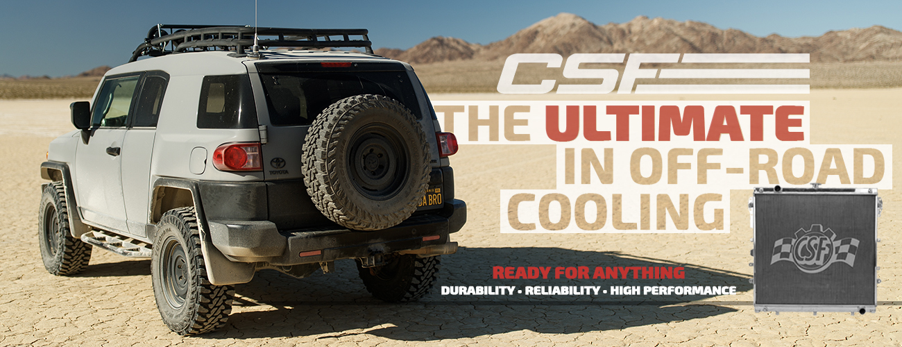 Order your CSF Radiator now! Limited supplies!
