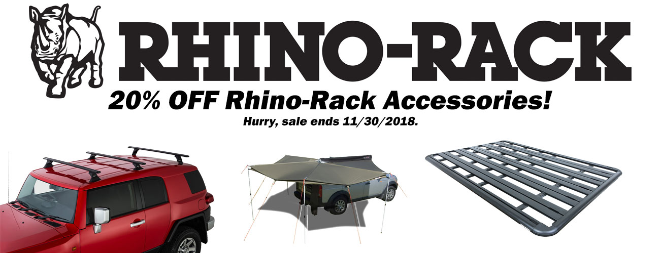 Now is the Time to Outfit your FJ with Rhino-Rack Accessories!