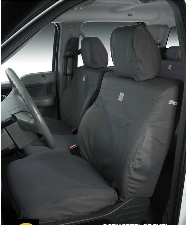 Carhartt Front Bucket Seat Covers - Gravel