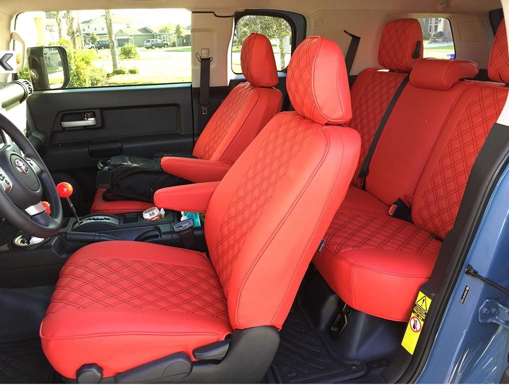 Clazzio FJ Cruiser Seat Covers - CUSTOMIZED