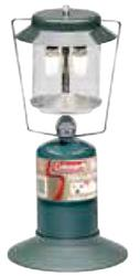 Coleman Propane Lantern; 2 mantle lighting
