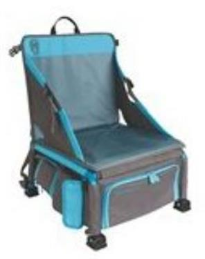 Coleman TREKLITE: Cooler Pack 14.4 seat with pockets