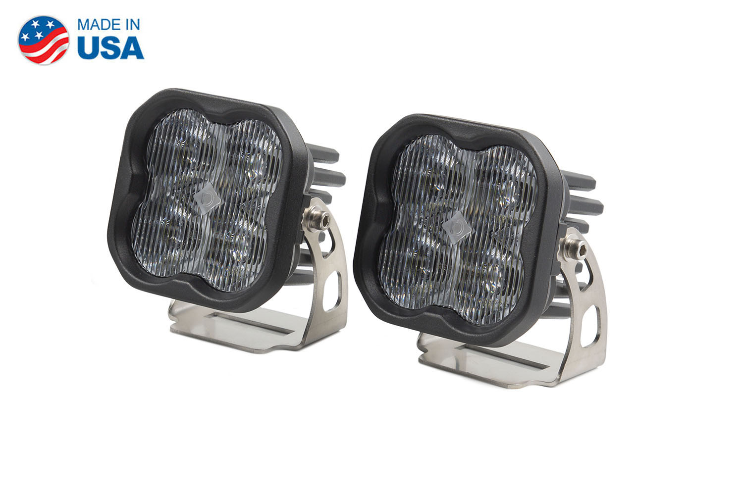Diode Dynamics Worklight SS3 Sport White SAE Fog Standard (pair)