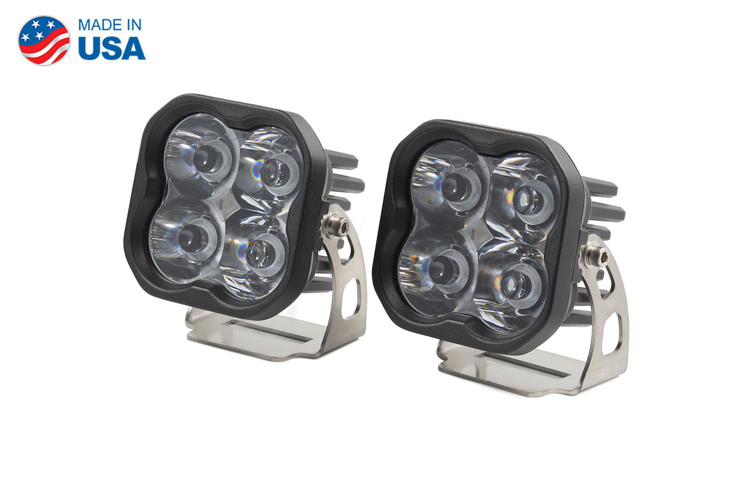 Diode Dynamics Worklight SS3 Pro White Spot Standard (pair)