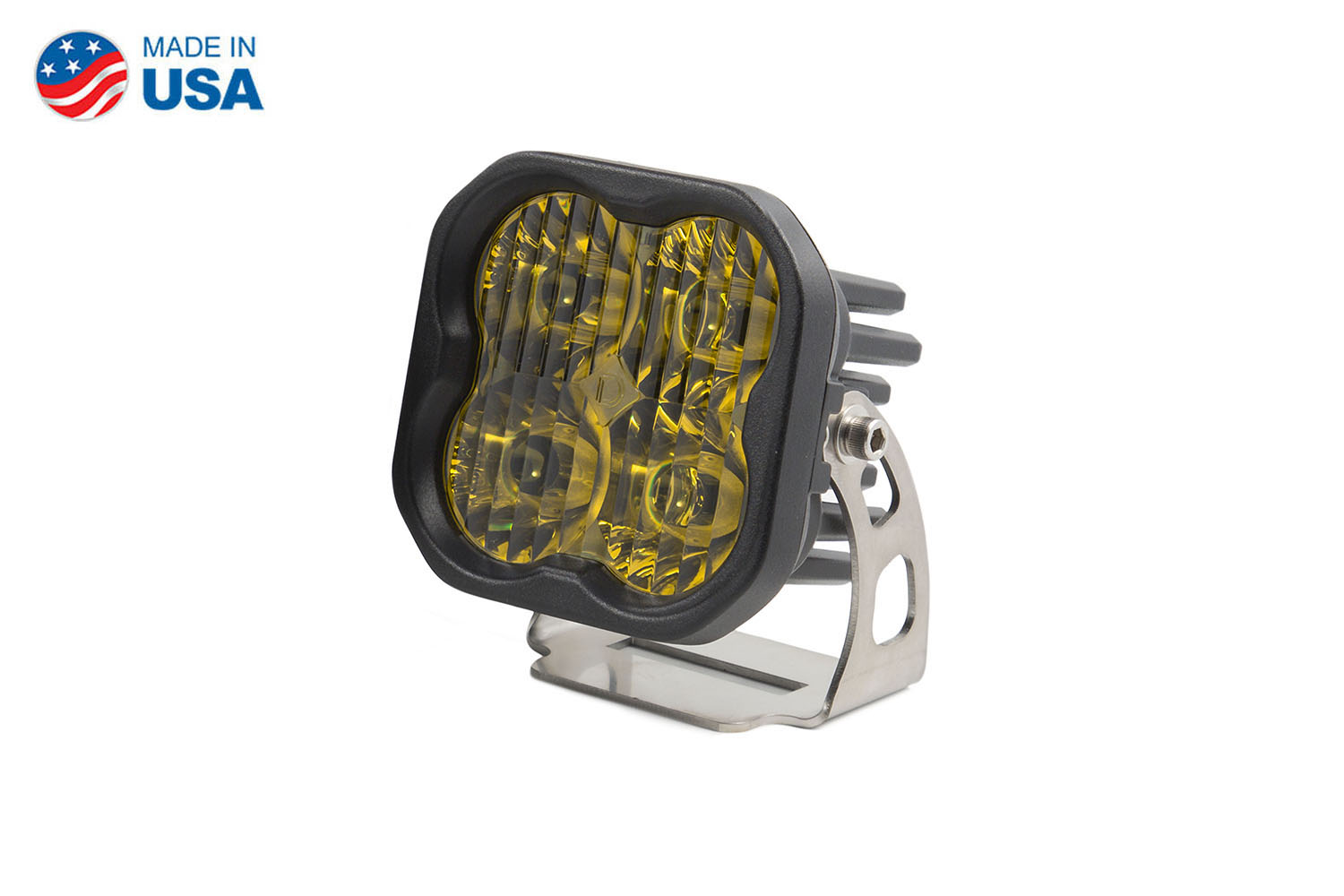 Diode Dynamics Worklight SS3 Pro Yellow Driving Standard (single)