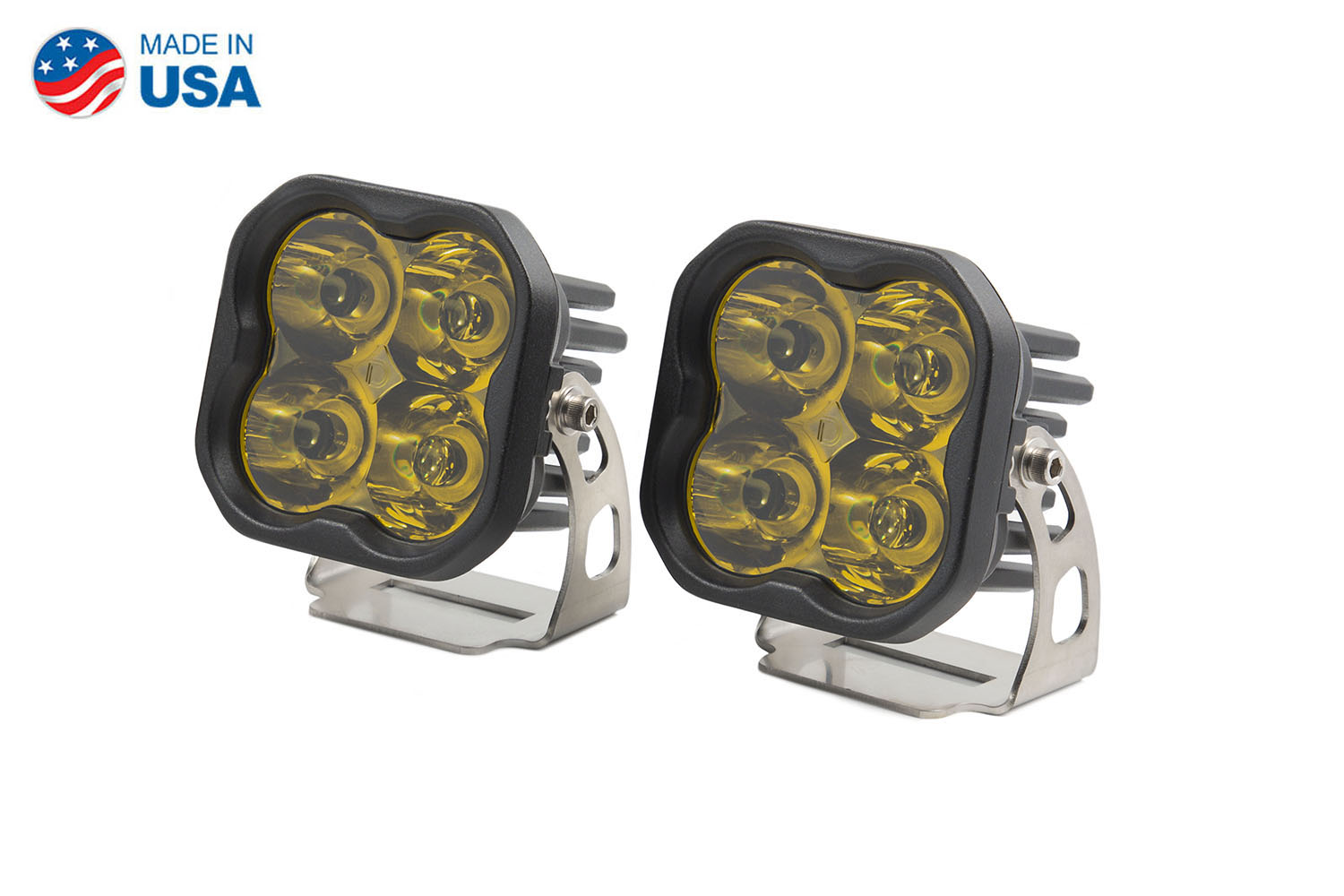 Diode Dynamics Worklight SS3 Sport Yellow Spot Standard (pair)