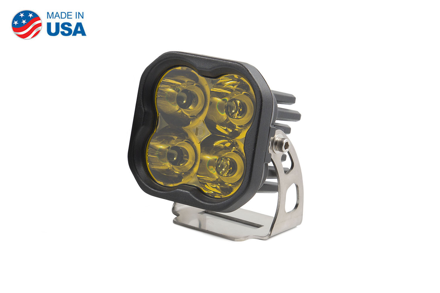 Diode Dynamics Worklight SS3 Sport Yellow Spot Standard (single)