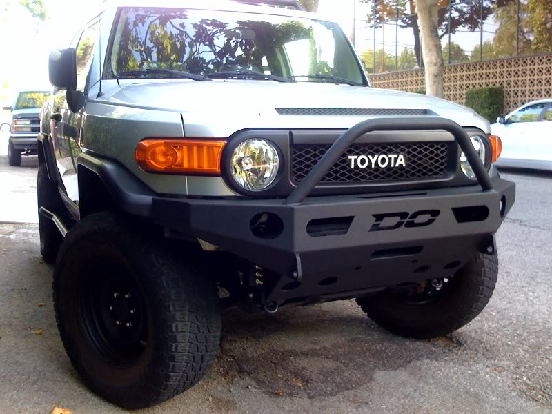 Demello Off-Road FJ Aluminum Single Hoop Front Bumper
