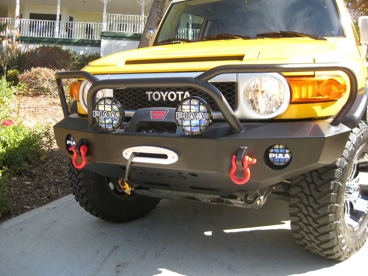 Expedition One Trail Series Kodiak Front Bumper