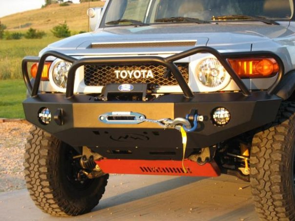 Expedition One Trail Series WyoOtto Style Front Bumper