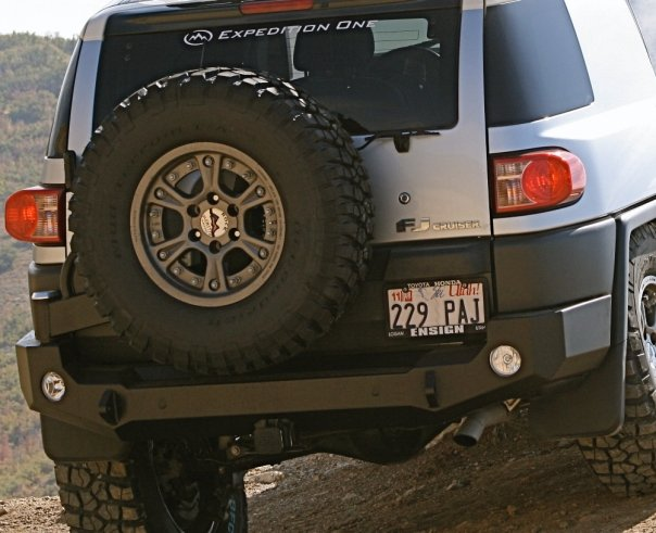 Expedition One Trail Series Rear Bumper with Smooth Motion STC System