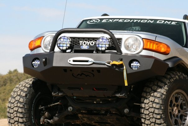 Expedition One Standard Trail Series Front Bumper for FJ Cruiser