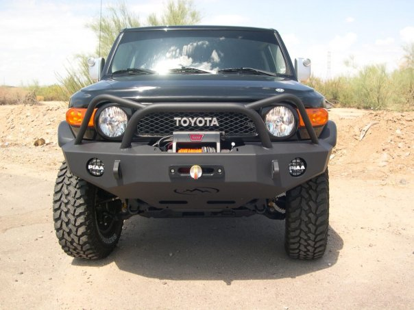 Expedition One Trail Series Diamond Style Front Bumper